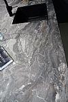 Bronzen eilandkeuken metal look 4.10