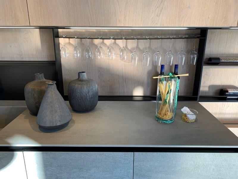 Italiaanse design keuken in keramiek icm houtfinee