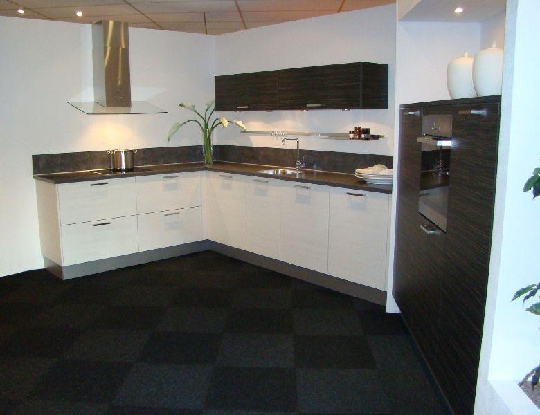 Zwart wit gebied keuken ~ beste ideen over huis en interieur